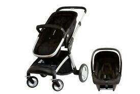 Mothercare rome pack with car seat and iso fix base