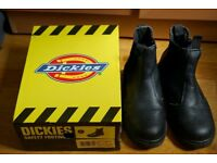 Dickies Mens Black Chelsea Work Boots #FA23345 UK Size 7