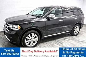 2013 Dodge Durango Crew Plus 7 PASS! NAVI! TV/DVD! LEATHER! ROOF
