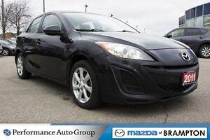 2011 Mazda MAZDA3 SPORT GX|AUTO|A/C|AUX|BASE