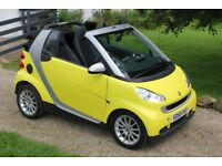 Smart Car ForTwo Passion Convertible Auto - Full Smart History Full Mot Low Miles