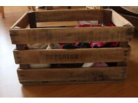 Refurbished Wooden Crate