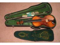 Vintage Tatra by Rosetti Stradivarius Model 4/4 violin