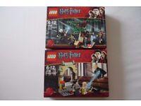 Lego Harry Potter Freeing Dobby 4736 & Forbidden Forest 4865 kits BNIB