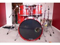 Red Pearl Export Drum-kit (5-Piece)