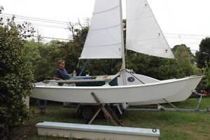 Tri 7mTremolino Hobie16 floats&Rig Tandem trailer Fully restored Beaumaris Bayside Area Preview