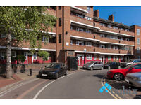 Large 3 bed flat with no lounge available furnished at the end of March.