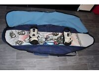 BRAND NEW STEPCHILD SNOWBOARD 162CM WITH NIDECKER FR660 BINDINGS AND BAG