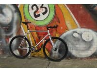 Christmas SALE ! GOKU Steel Frame Single speed road bike TRACK bike fixed gear FSA