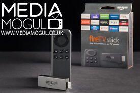 Amazon Fire TV Stick Loaded With KODI & MOBDRO, Customised Build with Auto Updates.. ( Media Mogul )