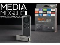 Amazon Fire TV Stick Loaded With KODI & MOBDRO, Customised Build with Auto Updates.. ( Media Mogul )