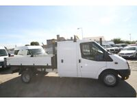 FORD TRANSIT 125 T-350 RWD COUBLE CAB TIPPER – 14-REG