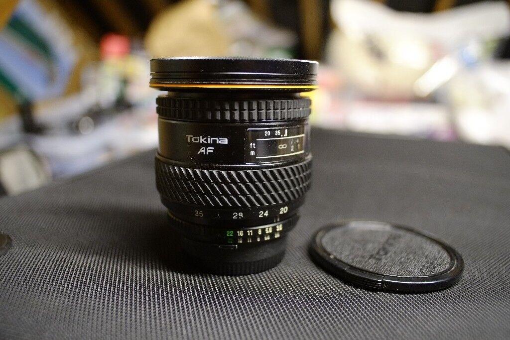 Tokina 20-35mm f/3.5-4.5 for Nikon, Auto-focus full frame lens   in ...