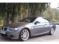 BMW 3 Series 2.0 320d M Sport 2dr 2008 (58 reg), Coupe