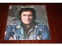 Johnny Cash John R Cash Vinyl LP Record