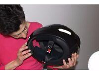 Motorbike crash helmet, woman's size, road crash helmet