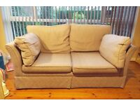 Very Comfy Sofa Bed in Good Condition. Comes with Mattress. £125.