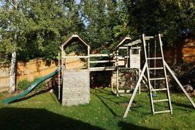 Children's garden play equipment