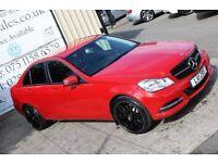 LATE 2012 MERCEDES C200 CDI BLUEEFICIENCY SE EXECUTIVE AUTO *NIGHT EDITION SPEC*(FINANCE & WARRANTY)