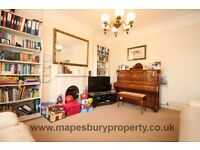 Beautiful 4 bedroom flat to rent separate reception room with private garden & own drive way