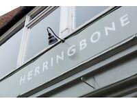 Bar and Waiting staff required for new Herringbone opening at Goldenacre - Edinburgh