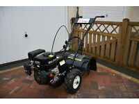 FoxHunter Heavy Duty 6.5 HP Petrol Garden Cultivator Rotovator Tiller with 3 Gears up to 400mm Width