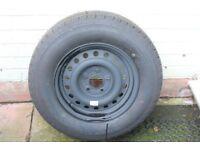 Caravan Tyre and Wheel