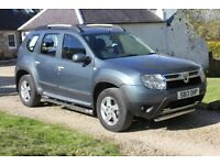 2013 Immaculate Dacia Duster 1.5 d Laureate Top Spec 4X4 FSH Full MOT Low Miles