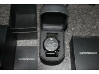 Armani AR1968 Watch mint condition 7 Months old
