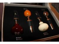 Mercedes Benz Wine Bottle Stoppers Set of Four Classic Gearshift Knobs