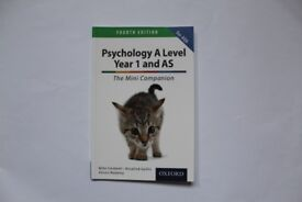 AQA A Level Psychology Year 1 & AS Revision Guide (NEW SPEC)