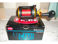 penn squall sql20 level wind boat reel