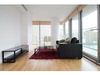 VACANT!! MODERN 1 BED APARTMENT WITH DOCK VIEW BALCONY IN THE LANDMARK, CANARY WHARF, E14 - AW