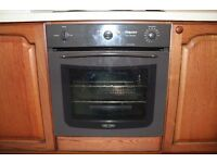 Hotpoint built in Oven, little used.