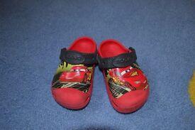 Lightning McQueen Crocs Size Child 8-9