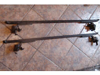 Ladder Rack Bars For Small Van or Car With Roof Gutters