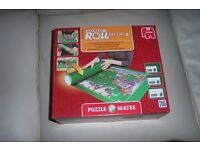 Puzzle & Roll the easy storage mat you can roll, suitable for 500-1500 piece jigsaws.
