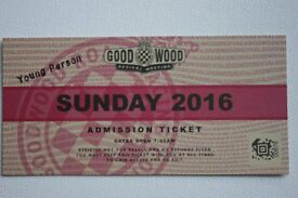 Goodwood revival - Young persons ticket: under 21 £15 each
