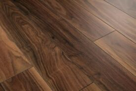53 sq meters walnut laminate flooring plus underlay