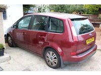 2004 FORD FOCUS C-MAX GHIA S-A RED Automatic =Diesel