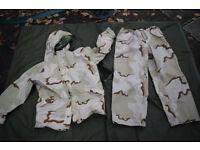 Reversible US Goretex Woodland / Desert Suit