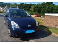 Toyota Verso 7 seater for sale