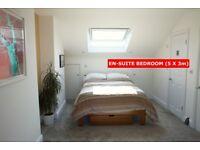 BIG EN SUITE ROOM - NICE HOUSE – SHORT LET - E5
