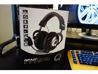 QPAD QH-90 Pro PC Gaming Headset in Black