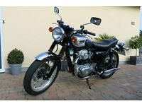 2002 Kawasaki W650 - 2 Mature Owners and Beautiful Condition
