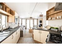 Brand new caravan in countryside near Ayrshire and Glasgow