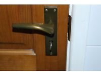 INTERNAL PINE WAXED DOORS - FREE to good home 7 doors all 6' in height.