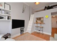 One bedroom flat with a mezzaine area on Camberwell Grove, Camberwell SE5