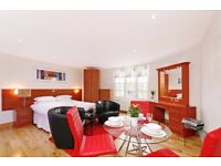 specious studio flat in marylebone