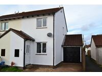 Very well presented two bedroom end terrace house with bright and airy accommodation.
